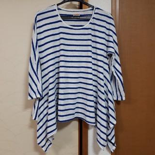 KAPITAL テントT 長袖ボーダー(Tシャツ(長袖/七分))