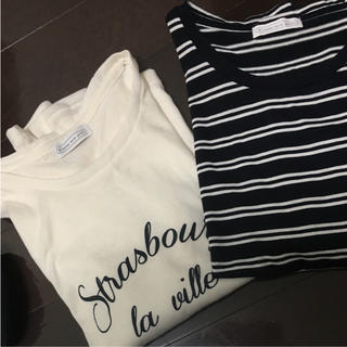 イーハイフンワールドギャラリー(E hyphen world gallery)のイーハイフン ロンT 2着セット 美品(Tシャツ(長袖/七分))