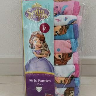 Disney - 新品 ソフィア パンツ 8枚セット