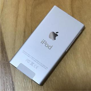 アップル(Apple)のiPod nano 7世代 16GB シルバー ジャンク(ポータブルプレーヤー)