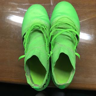 アディダス(adidas)のNEMESIS メッシ 17.1 緑(シューズ)