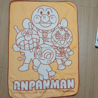 アンパンマン(アンパンマン)のアンパンマン フリースケット 膝掛け お昼寝布団(ベビー布団)