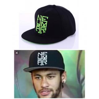 3個のみ!限定価格★ネイマールcap《グリーン》野球帽 サッカー キャップ 新品(キャップ)