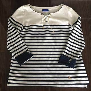 バーバリーブルーレーベル(BURBERRY BLUE LABEL)の美品 バーバリーブルーレーベル 長袖Tシャツ(Tシャツ(長袖/七分))