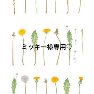 ミッキー様専用♡(クレンジング / メイク落とし)