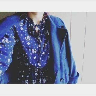 ジーユー(GU)の新品未使用☆セーラームーン☆プリントスエット ネイビー M 2149円(シャツ/ブラウス(長袖/七分))