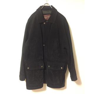 ヨウジヤマモト(Yohji Yamamoto)の【Givet】ビッグシルエット レザージャケット Lサイズ(レザージャケット)