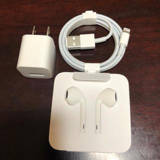 アップル(Apple)のiPhone7用 純正付属品セット(ヘッドフォン/イヤフォン)