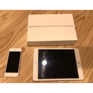 アップル(Apple)のiPad mini4 16GB Wi-Fi ➕ 第5世代iPod touch (タブレット)