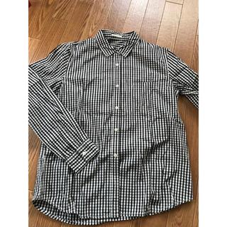 ジーユー(GU)のチェックシャツ M(シャツ/ブラウス(長袖/七分))
