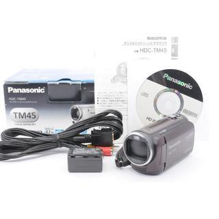パナソニック Panasonic HDC-TM45 元箱付 (ビデオカメラ)