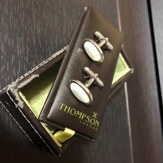 ジムトンプソン(Jim Thompson)のTHOMPSON LONDON カフスボタン USED  送料無料 (カフリンクス)