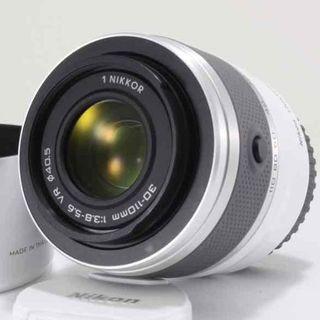 ニコン(Nikon)の☆美品☆Nikon 1 NIKKOR VR 30-110mmホワイト(レンズ(ズーム))
