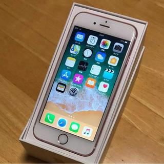 アップル(Apple)のiPhone 6s Rose Gold 128 GB docomo(スマートフォン本体)