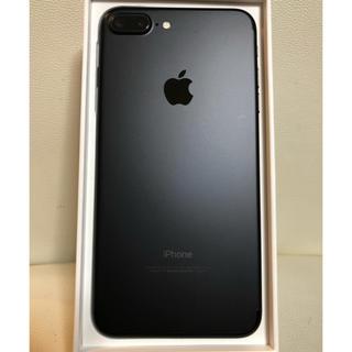 アップル(Apple)のiPhone7 plus 32g SIMフリー 極美品(スマートフォン本体)