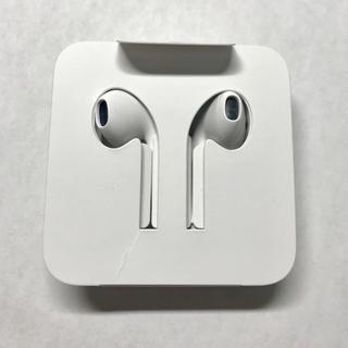 アップル(Apple)のiPhone7,8 純正イヤホン(ヘッドフォン/イヤフォン)