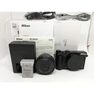 ニコン(Nikon)の⭐人気の品⭐ニコン最小ミラーレス Nikon1 J5 ブラック(ミラーレス一眼)
