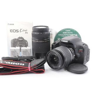 Canon EOS Kiss X5 超望遠ダブルレンズセット(デジタル一眼)