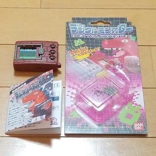 【動作確認済】デジモン 初代 ブラウン(携帯用ゲーム本体)