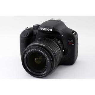 キヤノン(Canon)の★動画も撮れる!WiFi対応★キャノン Kiss X4 レンズキット(デジタル一眼)