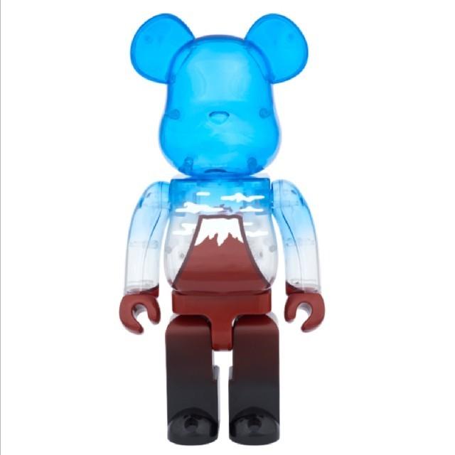 MEDICOM TOY(メディコムトイ)のベアブリック BE@RBRICK 赤富士 400% スカイツリー ソラマチ エンタメ/ホビーのおもちゃ/ぬいぐるみ(キャラクターグッズ)の商品写真