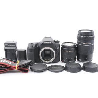 Canon EOS 70D 超望遠ダブルレンズセット(デジタル一眼)