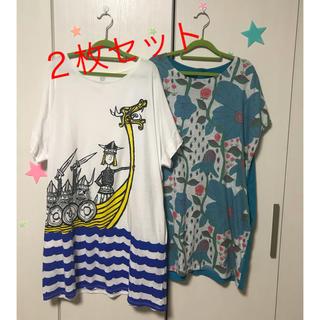 グラニフ(Design Tshirts Store graniph)のグラニフ  ワンピース  2枚セット(ミニワンピース)
