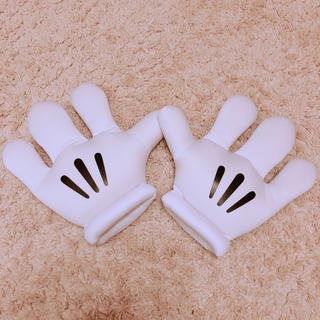 ディズニー(Disney)のミッキーの手袋(キャラクターグッズ)