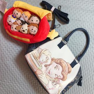 ディズニー(Disney)の海外輸入 美女と野獣 バッグ つむつむ セット HOT TOPIC(キャラクターグッズ)