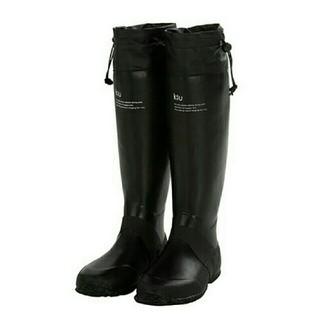 キウ(KiU)のKiU キウパッカブルレインブーツレインシューズ ブラックSサイズ(レインブーツ/長靴)