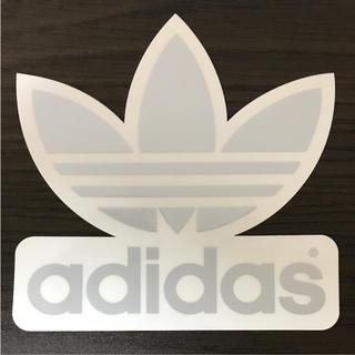 アディダス(adidas)の【縦13.8cm横13.7cm】adidas skateboardステッカー二枚(ステッカー)