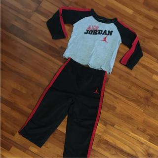 ナイキ(NIKE)のAir Jordan ロンT 長ズボン セットアップ(Tシャツ/カットソー)