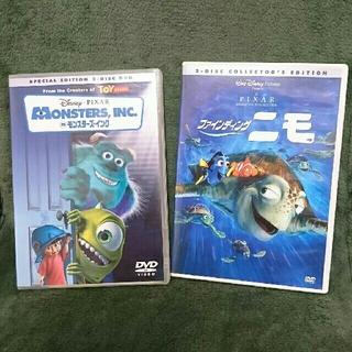 ❤モンスターズインク DVD & ファインディング ニモ DVD セット❤