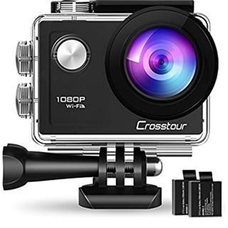 rosstour アクションカメラ WiFi搭載 1080PフルHD高画質