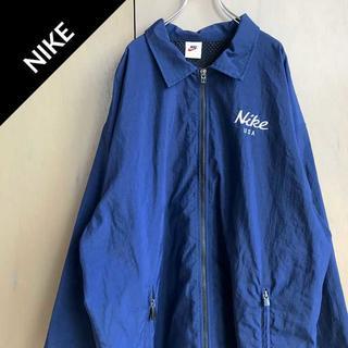 ナイキ(NIKE)のナイキ 【90s】 ワンポイントロゴ ナイロンジャケット ジャージ ビンテージ(ナイロンジャケット)