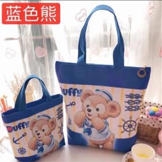 ダッフィー - 日本未発売 ダッフィー ランチバッグ 小物入れ 小の値段 ラス1