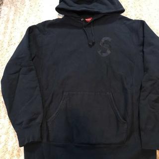 Supreme - Supreme S LOGO Hooded Sweat紺XL