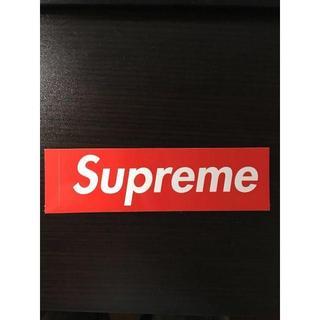 シュプリーム(Supreme)のSUPREME ステッカー(Tシャツ/カットソー(半袖/袖なし))