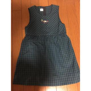 familiar - ファミリア ワンピース 120 ジャンパースカート  スカート