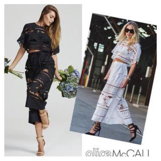 アリスマッコール(alice McCALL)のAlice MccallアリスマッコールレースセットアップS(シャツ/ブラウス(半袖/袖なし))