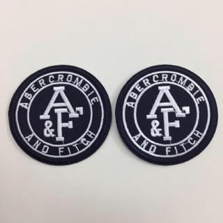 アバクロンビーアンドフィッチ(Abercrombie&Fitch)のアバクロ アイロンワッペン 二枚セット 新品(各種パーツ)