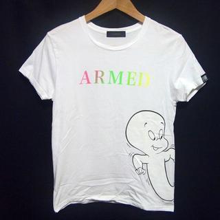 アームド(ARMED)の限定!ARMED アームド×キャスパー コラボ Tシャツ ロゴ LOVELESS(Tシャツ/カットソー(半袖/袖なし))