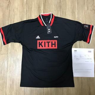アディダス(adidas)のKITH X ADIDAS SOCCER MATCH JERSEY(Tシャツ/カットソー(半袖/袖なし))