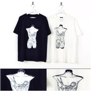 ファンキーフルーツ(FUNKY FRUIT)の人体BOXプリントビックサイズトップス(Tシャツ(半袖/袖なし))