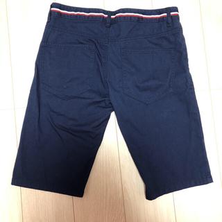 シマムラ(しまむら)のハーフパンツ メンズ 紺色 ウエスト79 夏物セール(ショートパンツ)