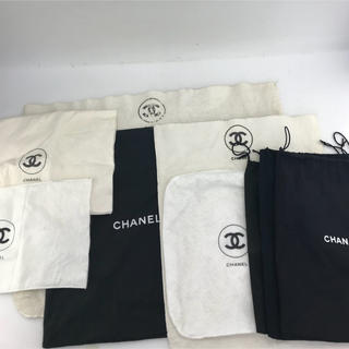 シャネル(CHANEL)のCHANEL 保存袋 ダストバッグ 9枚セット(その他)