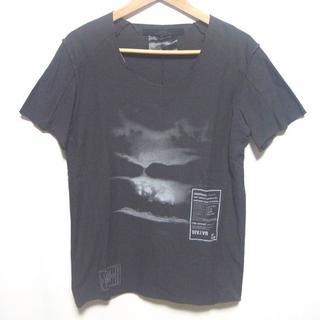 ディレイン(DIRAIN)のDIRAIN ディレイン★カットソー Tシャツ フロント プリント 半袖トップス(Tシャツ/カットソー(半袖/袖なし))