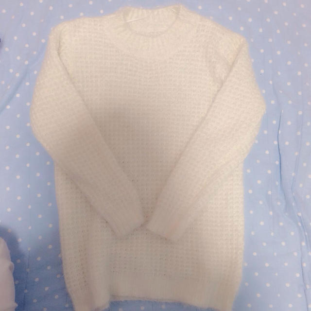 GU(ジーユー)のもこもこ♡ワンピ♡ロンT レディースのトップス(Tシャツ(長袖/七分))の商品写真