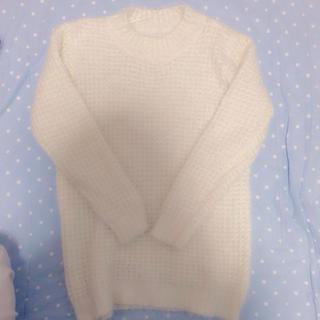 ジーユー(GU)のもこもこ♡ワンピ♡ロンT(Tシャツ(長袖/七分))
