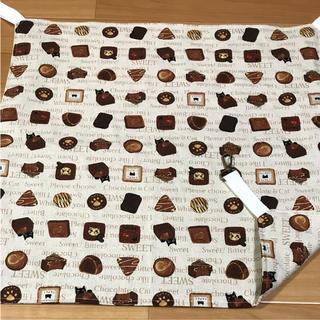 ニャンモック  猫 小動物用 ハンモック  金具付 チョコ(猫)